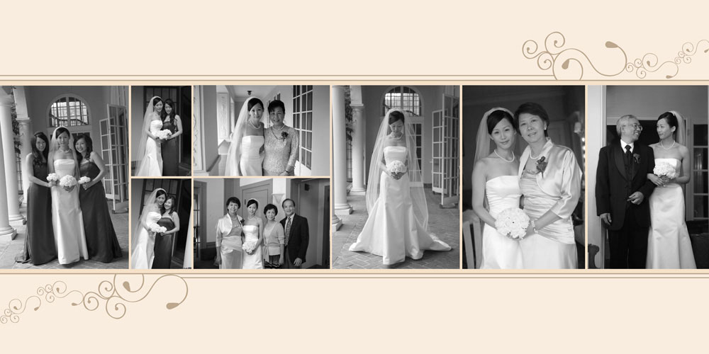 optional enhancements for those wanting more to their wedding album designs - Wedding Album Design Ideas
